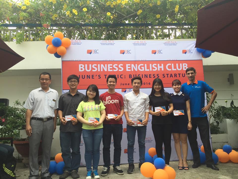 ILACS ra mắt CLB Tiếng Anh – Business English Club