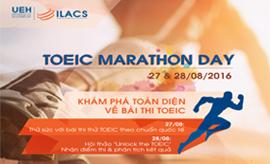 Toeic Marathon Day 2016 – Thử sức cùng bài thi TOEIC