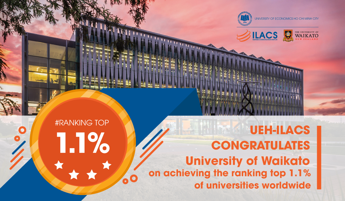 UEH-ILACS congratulates University of Waikato
