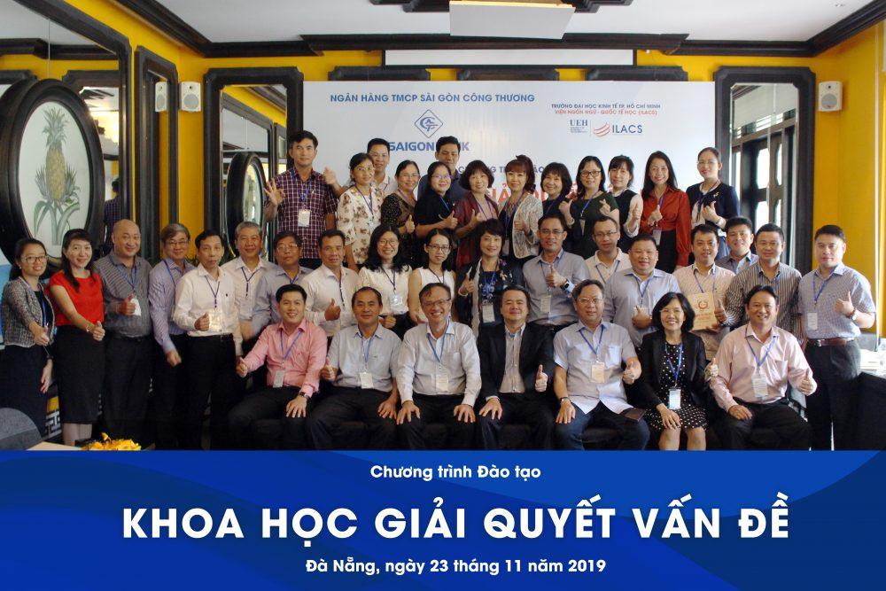 """Saigon Bank và Chương trình đào tạo """"Khoa học giải quyết vấn đề"""""""