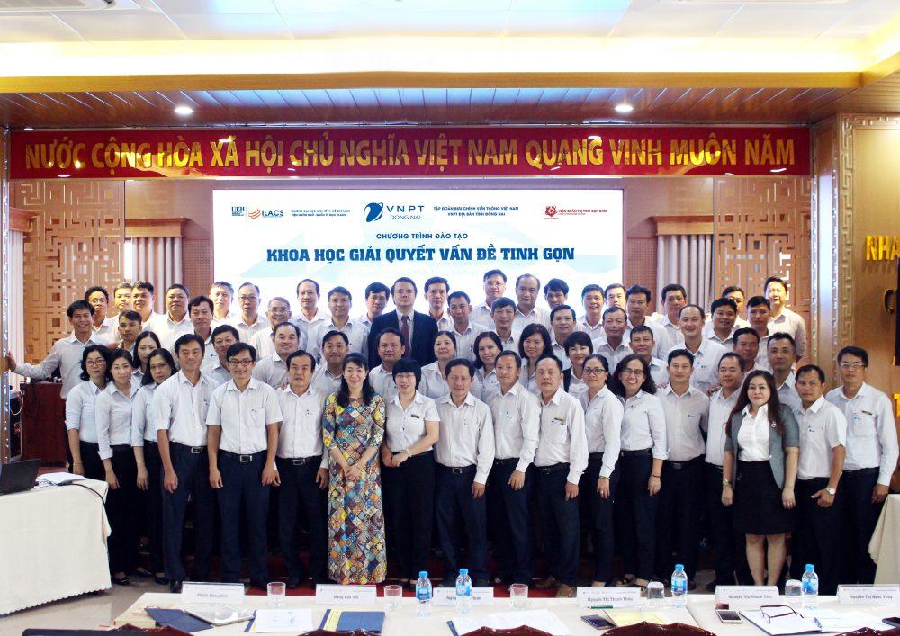 """VNPT Đồng Nai và Chương trình đào tạo """"Khoa học giải quyết vấn đề tinh gọn"""""""